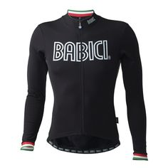 Babici Italo winter cycling jersey.