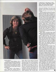 Andy Les Bee Gees, Andy Gibb, Sweet Soul, Everlasting Love, First Night, Friends Family, Couple Photos, Concert, Celebrities