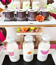 """Shower mom with dozens of gifts this Mother's Day. We love this bright and happy """"Coffee with Mom"""" brunch featuring Tiny Prints gifts and more. Best Mothers Day Gifts, Happy Coffee, Tiny Prints, Mom Day, Mother And Father, Brunch, Diy Crafts, Bright, Mugs"""