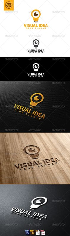 Visual Idea Logo Template  #GraphicRiver         Visual Idea Logo Template is An excellent logo template highly suitable for for logo company, office, organization,web, start up, studio   These files consists of resizable vector format files like AI, EPS , and PDF .   Also PSD format for raster version alternative.   font used Aller     Created: 4July13 GraphicsFilesIncluded: PhotoshopPSD #VectorEPS #AIIllustrator Layered: Yes MinimumAdobeCSVersion: CS Resolution: Resizable Tags…