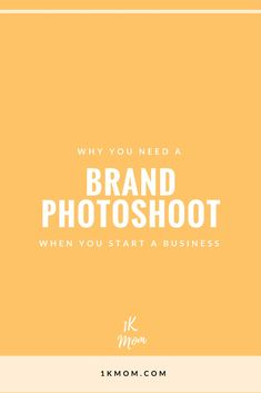 Why you need a professional brand photoshoot when you start a business, build a personal brand, growing a network marketing business or make money online as a mompreneur.