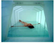 Sensory deprivation tank in NY. I've always wanted to try one!