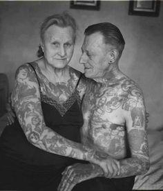 """""""Non Tatuarti, Fra 40 Anni Farai Schifo!"""", 20 Foto Di Anziani Che Ti Dimostreranno Il Contrario. - FUNNY ITALIA"""