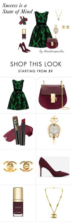 """""""Successful State of Mind"""" by thecottonpeaches on Polyvore featuring P.A.R.O.S.H., Chloé, L.A. Girl, Gucci, Chanel, CHARLES & KEITH and Dolce&Gabbana"""