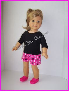 GiGi's Doll Creations: Link for Free short pattern and my modified version of inserting elastic.