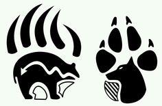 Artistic Native American Wolf Paw Symbol on Uncategorized Ideas Native American Wolf, Native American Tattoos, Native American Symbols, Native American Design, American Indians, American Women, American History, Native American Patterns, Native American Beadwork