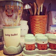 First time use and Im in love! Myles loves his carrots! #babybullet #freshveggies #babyfood