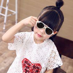 Kids Vintage Goggles Sports Anti-UV Flexible Polarized Lightweight Sunglasses For Children
