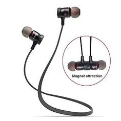 Bluetooth 4.1 Wireless Stereo Headsets with Noise Cancellation (Black)--$25.59