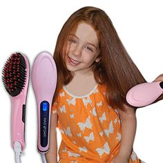 Perfect Straightener Brush for my daughter's long thick hair.  She loves this more than the more expensive Chi that was bought for her.  #sp #gotit4adiscount  Professional Ceramic Hair Straightener Brush by NAD&DAN w... https://www.amazon.com/dp/B01EG5M1FQ/ref=cm_sw_r_pi_dp_x_jDy9xb1JMJPDB