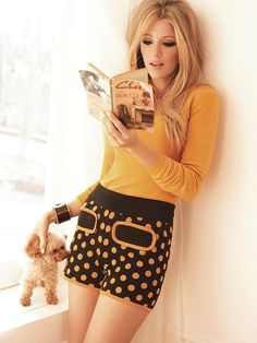 "super-daniel23: ""Blake Lively "" ~ Beautiful Bookworms ~"