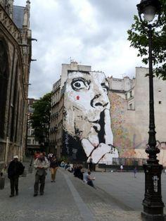 Paris - Jef Aerosol #street_art #jef_aerosol #paris by Groschi