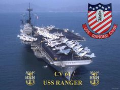 USS Ranger my first and favorite Navy duty station. Us Navy Aircraft, Navy Aircraft Carrier, Military Aircraft, Navy Day, Go Navy, Navy Carriers, Navy Marine, Army Vehicles, United States Navy