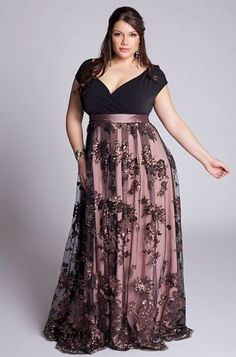 Beautiful, I'd wear it around the house and pretend I was a princess! Hehe #Plussizefashionforwomen