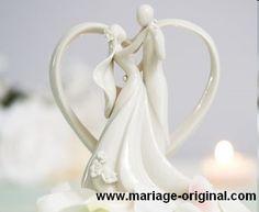 figurine gâteau mariage