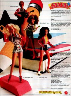 Mattel Starr dolls...oh how I would have loved to have these as a kid!