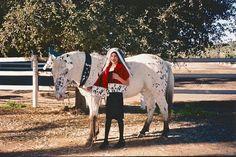 Victoria Hebner and Pongo the Wonder Pony  2015 Triple Crown Halloween Contest
