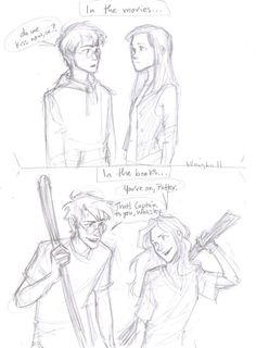Book Hinny is a trillion times better than movie Hinny. <3