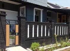 Pagar rumah adalah salah satu fasilitas pengaman yang sekaligus juga dapat dijadikan sebagai percantik penampilan eksterior r