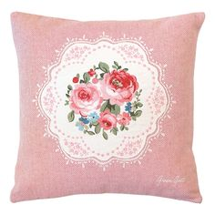 Antiques Well-Educated A12 Antique Edwardian Embroidered Salvage Fabric Remnant Rose Roses Excellent In Cushion Effect