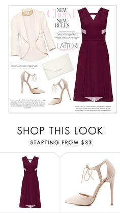 """""""LATTORI dress"""" by water-polo ❤ liked on Polyvore featuring Lattori, Wilfred, Charlotte Russe, Style & Co., polyvoreeditorial and lattori"""