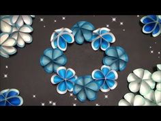 【DIY】簡単!かわいいペーパーフラワーの作り方 Easy! How to make a cute paper flower - YouTube