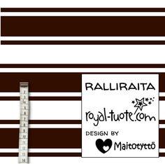 Ralliraita joustofrotee, suunnittelija Maitotyttö
