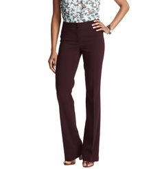 Loft - LOFT petite work it pants - Petite Kate Trouser Leg Pants in Mid Weight LOFT Scuba