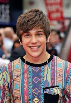 Austin at the Wolverine Premiere in London