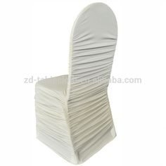 Fitted banquet Elastic ruffled wedding spandex chair cover