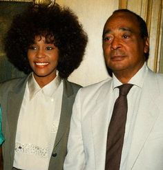 Whitney And Her Father, John Houston - whitney-houston Photo...She looked just like her Daddy.