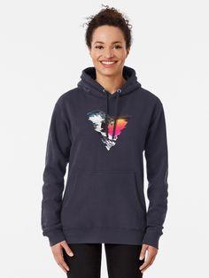 """Great Retro Wave "" Pullover Hoodie by ind3finite | Redbubble Sweat Shirt, Sweatshirt Femme, Streetwear, Black Luxury, Tropical Pattern, Hoodie Outfit, Chiffon Tops, Hooded Jacket, Casual"