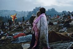Young couple at Woodstock unknowingly became the iconic image of the event.