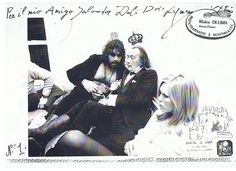 SALVADOR DALI.....WITH AMANDA LEAR AND VANGELIS.......BY PASCAL WAGNER...BING IMAGES.......