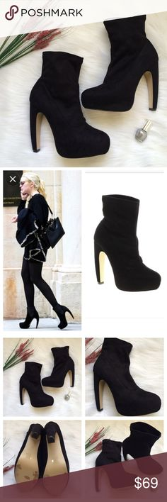 Sale🎉Hurry🎉ASOS Aura Ankle Black booties heels Women's Black Asos Aura Ankle Boots. Sold out everywhere!!...Excellent condition. Size 9. Suede style. ASOS Shoes Ankle Boots & Booties