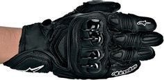 Special Offers - Alpinestars GPX Leather Motorcycle Gloves  Black - In stock & Free Shipping. You can save more money! Check It (October 25 2016 at 10:19PM) >> http://motorcyclejacketusa.net/alpinestars-gpx-leather-motorcycle-gloves-black/