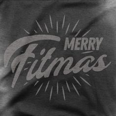 Merry Fitmas - Men's Sweat Activated T-Shirt Workout Tanks, Gym Workouts, Hard Workout, Fitness Stores, Gym Tank Tops, Shirt Designs, Motivation, Effort, Christmas