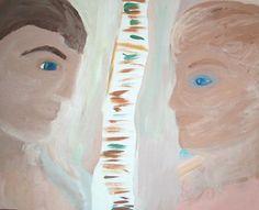 "Saatchi Art Artist Beverly Peters; Painting, ""chemistry or  love"" #art"