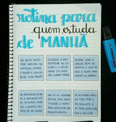 63 ideas memes 2019 portugues for 2019 Bullet Journal School, Bullet Journal Ideas Pages, Lettering Tutorial, Study Techniques, Study Organization, Stabilo Boss, School Study Tips, Study Planner, School Notes