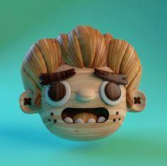 Los personajes de Alberto Cerriteño en 3D – Nice Fucking Graphics!