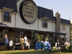 A Summer Tradition: Music on the Veranda at Chateau Thomas Winery - Visit Hendricks County