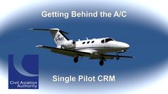 flygcforum.com ✈ SINGLE PILOT CRM ✈ Getting behind the AC: Single pilot CRM ✈ Distracted by a business partner the business jet pilot then misses cues from ATIS, other aircraft and ATC and finds himself getting behind the aircraft. Committed to make a meeting a rushed steep descent almost ends in catastrophy.