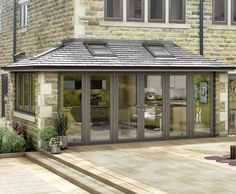 If your conservatory was damaged we can provide a complete repair services. Refresh your Conservatory If the issue by means of your conservatory Tiled Conservatory Roof, Conservatory Extension, Conservatory Kitchen, Modern Conservatory, Conservatory Ideas Sunroom, Orangery Extension Kitchen, Orangery Roof, House Extension Design, Glass Extension