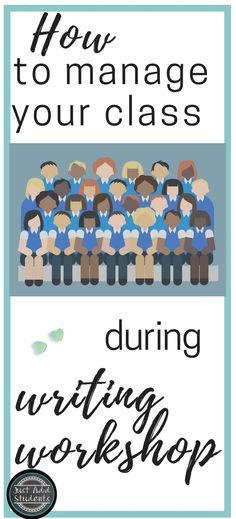 What is the rest of your class doing during writing workshop?  If you're wondering how to maintain classroom management, keep students working on meaningful writing activities, AND conduct student conferences, this post will help you.  Get a handle on managing writing workshop to help your students grow as writers! #writing #lesson #middleschool #justaddstudents