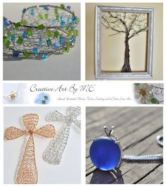 Creative Art By ME has graciously donated a gorgeous 40 dollar wire Spring tree in a frame my 5 year anniversary giveaway. Her wire wrapped and knit creations are simply stunning!    Etsy: https://www.etsy.com/shop/CreativeArtbyME  Facebook: http://www.facebook.com/Creativeartbyme    My 5 Year Anniversary Giveaway will begin here on May 14th: http://www.facebook.com/TwoSeasideBabes/app_228910107186452