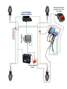 Pin By George Leon On Electronics Motorcycle Wiring Hazard Lights Automotive Electrical