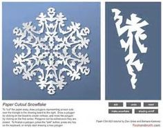 Snowflake Patterns for Paper Cutting - Bing Images Paper Snowflake Patterns, Paper Cutting Patterns, Snowflake Template, Paper Snowflakes, Snowflake Designs, Christmas Snowflakes, Noel Christmas, Winter Christmas, All Things Christmas