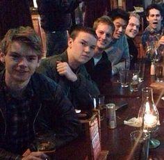 Look at Thomas's face, then look at Dylan's :)