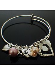 Charmed Bangle Kits Memory Wire Adjule Bracelets Beaded Bracelet Patterns Jewelry