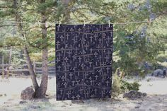 Black Cross Quilt, by Nancy Moore of Tom Miner Quilts and Folk Art
